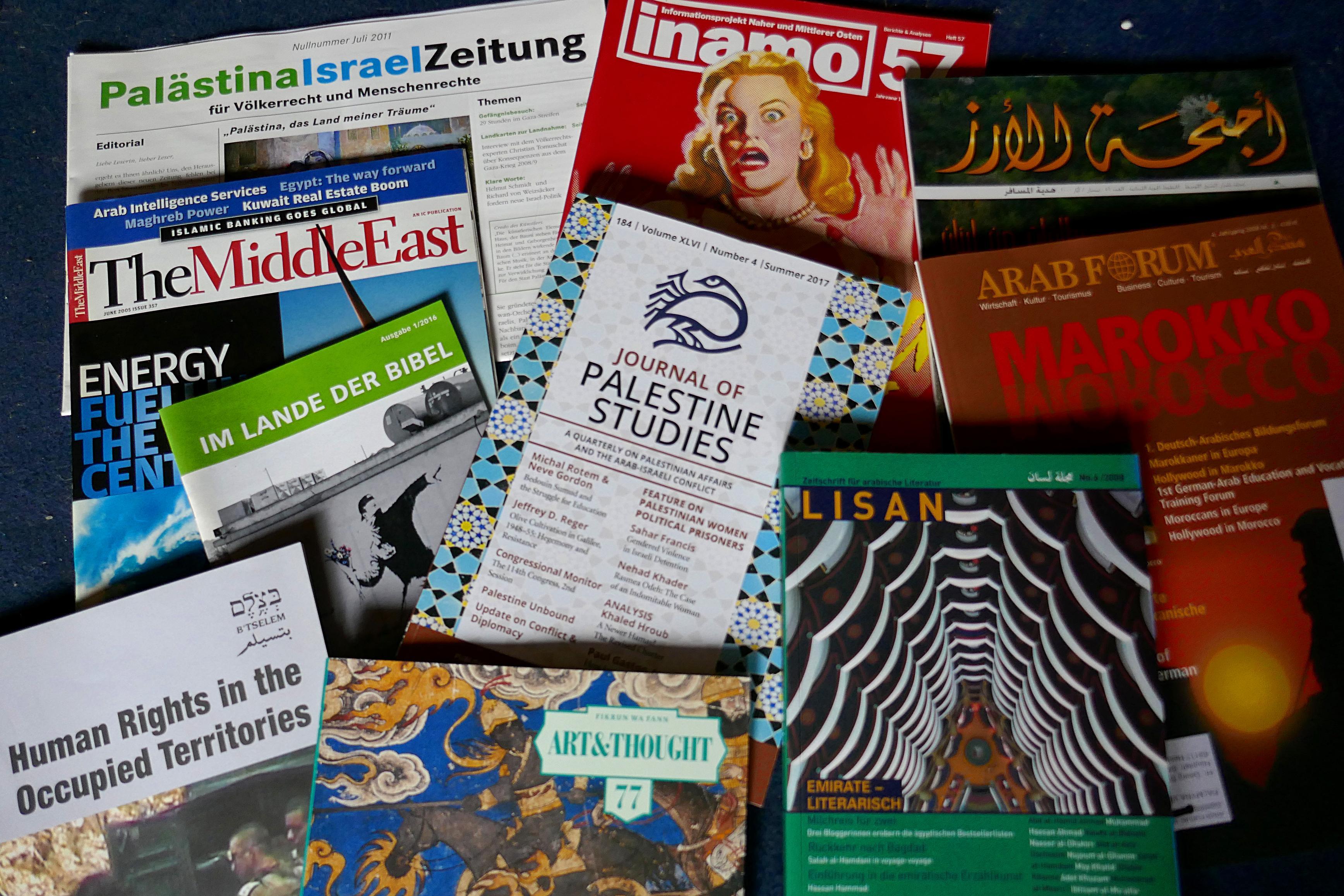 Zeitungs  und Zeitschriftenverzeichnis   Palmyra Verlag